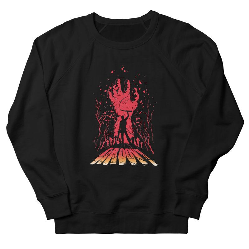 Groovy Men's French Terry Sweatshirt by Steven Toang