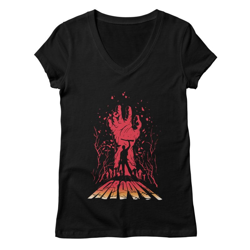 Groovy Women's V-Neck by Steven Toang