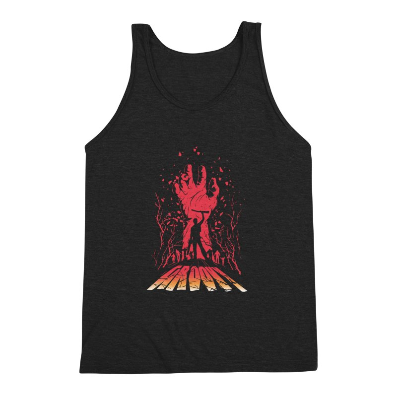 Groovy Men's Triblend Tank by Steven Toang