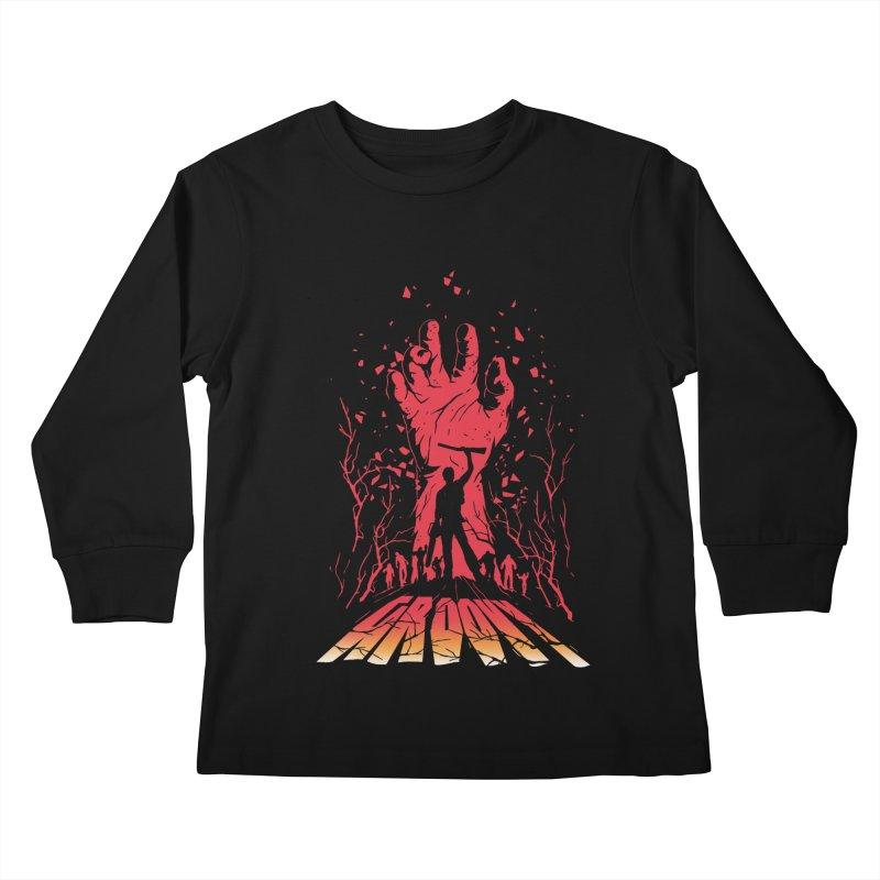 Groovy Kids Longsleeve T-Shirt by Steven Toang