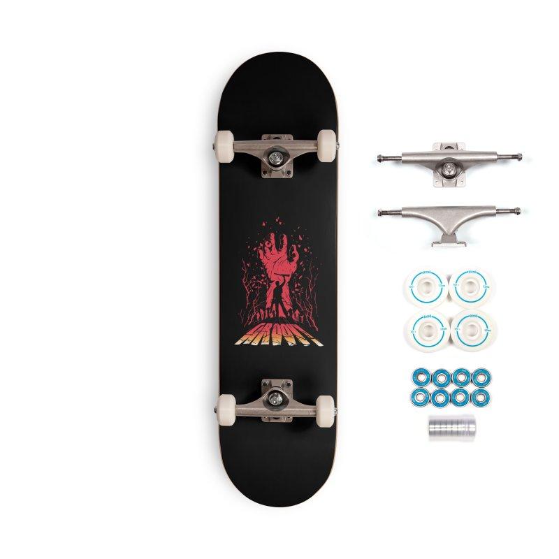Groovy Accessories Skateboard by Steven Toang