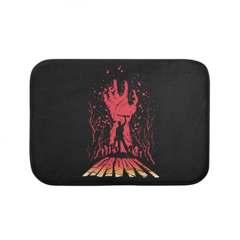 Groovy Home Bath Mat by Steven Toang
