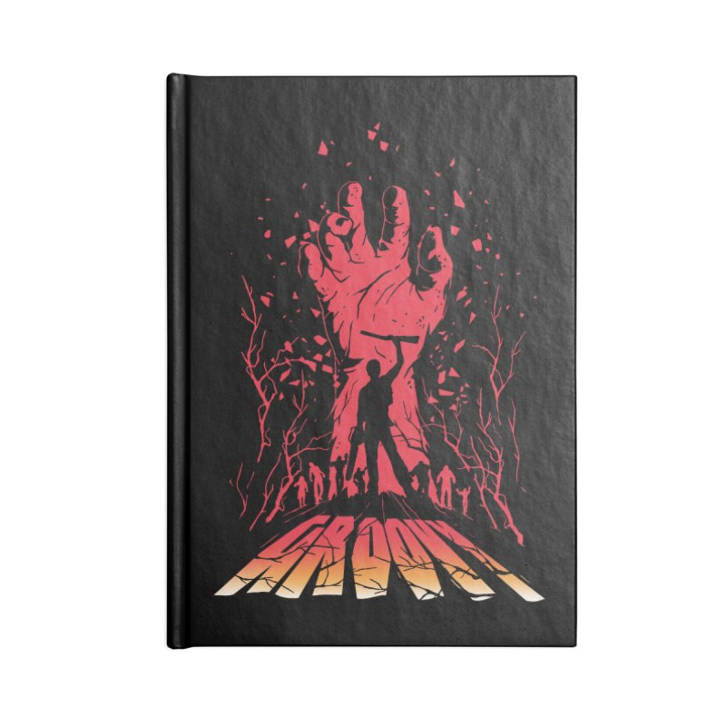 Groovy Accessories Blank Journal Notebook by Steven Toang