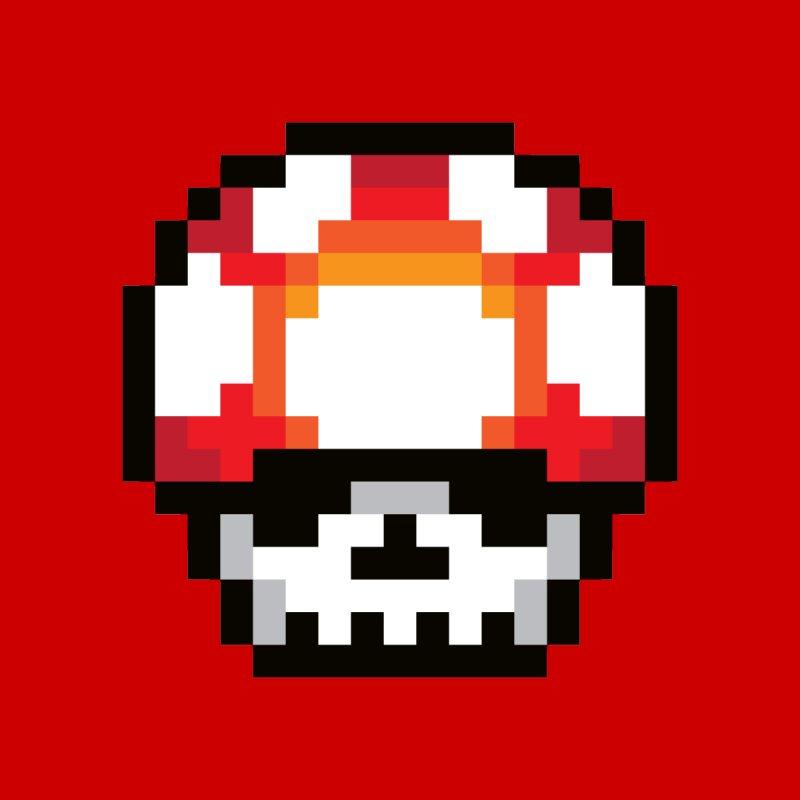 Pixel mushroom by Steven Toang