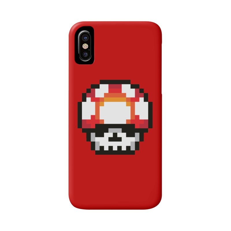 Pixel mushroom Accessories Phone Case by Steven Toang