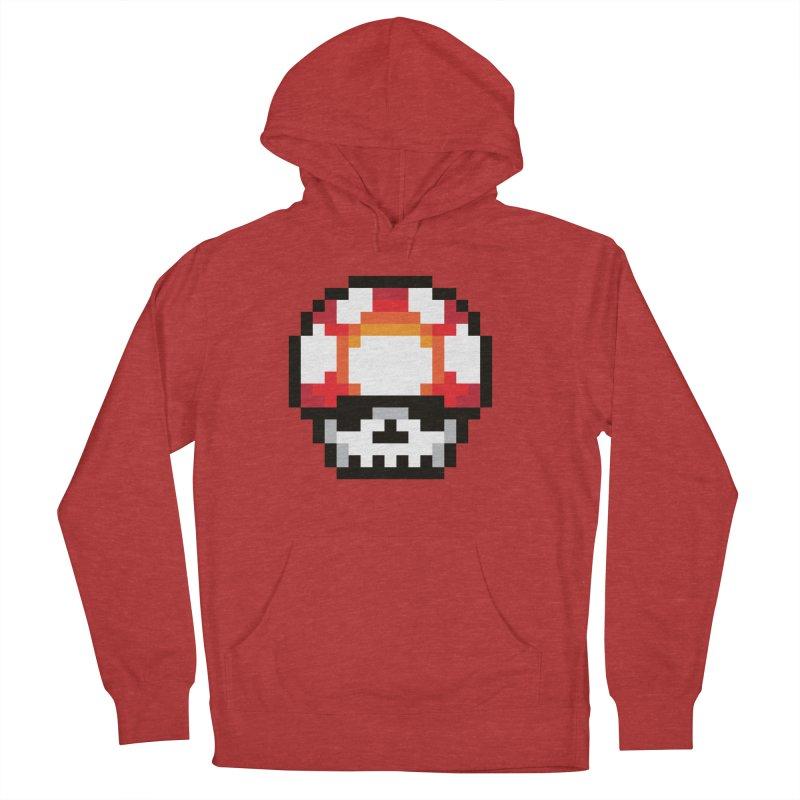 Pixel mushroom Men's Pullover Hoody by Steven Toang