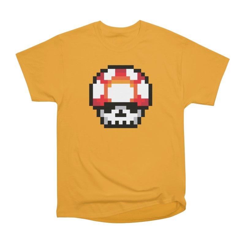 Pixel mushroom Women's Classic Unisex T-Shirt by Steven Toang