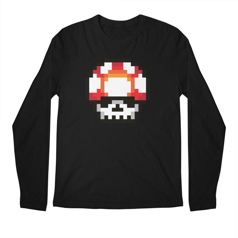 Pixel mushroom Men's Regular Longsleeve T-Shirt by Steven Toang