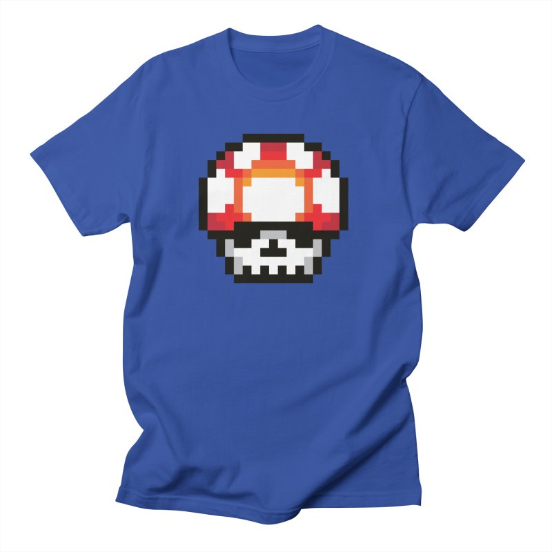 Pixel mushroom Women's Regular Unisex T-Shirt by Steven Toang