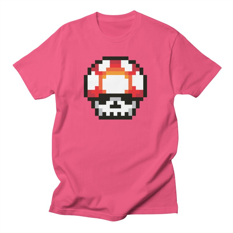 Pixel mushroom Women's Unisex T-Shirt by Steven Toang
