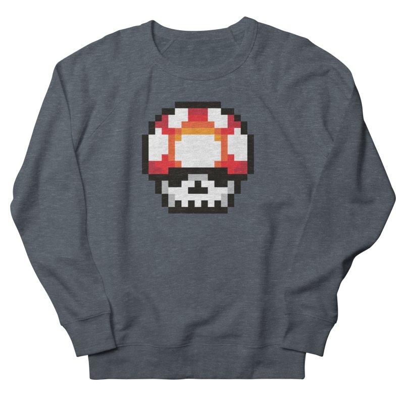 Pixel mushroom Women's Sweatshirt by Steven Toang