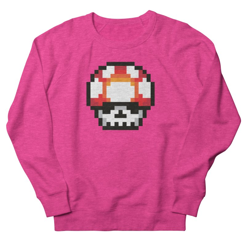 Pixel mushroom Men's Sweatshirt by Steven Toang