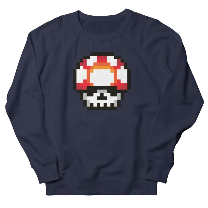 Pixel mushroom Men's Sweatshirt by Steven Toang