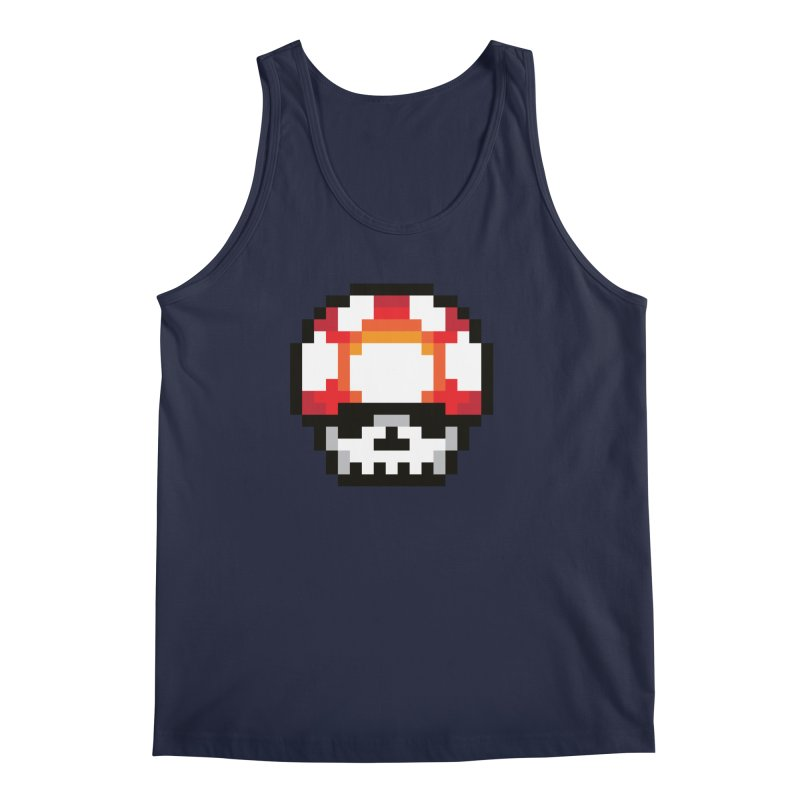 Pixel mushroom Men's Regular Tank by Steven Toang