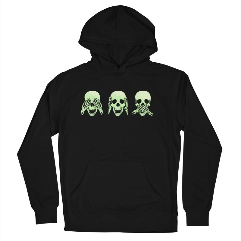 No evil skulls Women's French Terry Pullover Hoody by Steven Toang