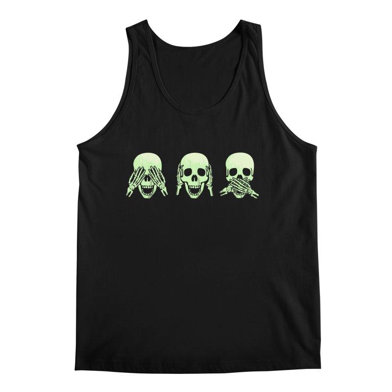 No evil skulls Men's Regular Tank by Steven Toang