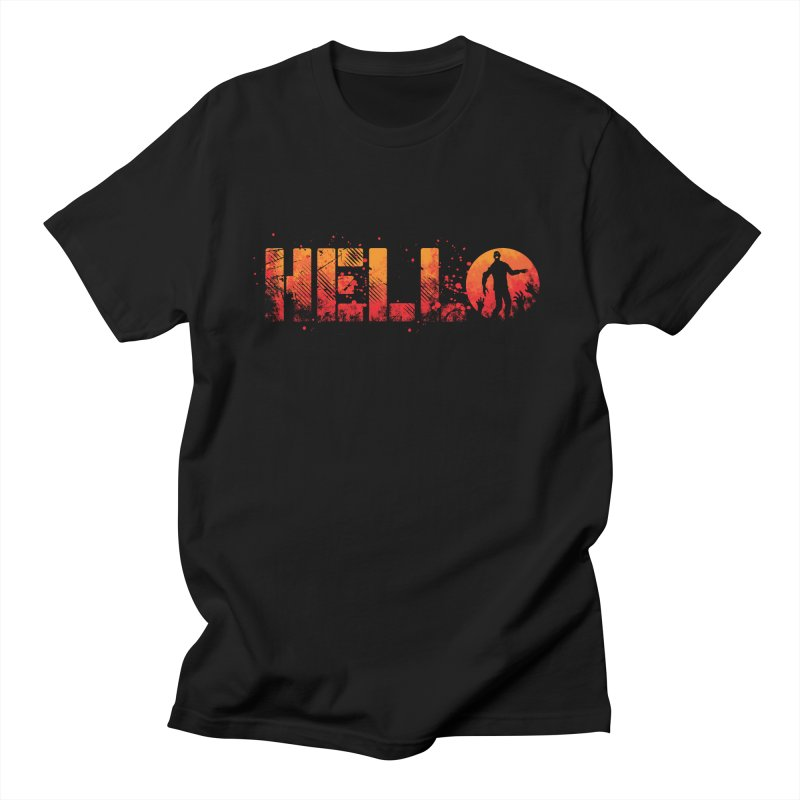 HELLO Men's T-Shirt by Steven Toang