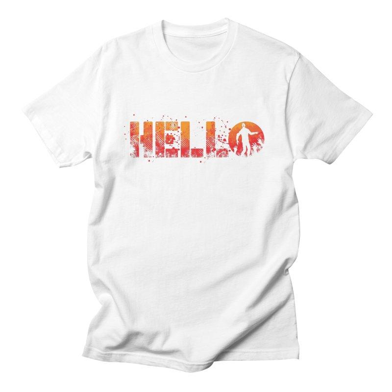 HELLO Men's T-Shirt by Steven Toang