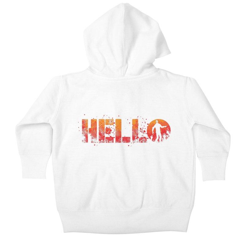 HELLO Kids Baby Zip-Up Hoody by Steven Toang