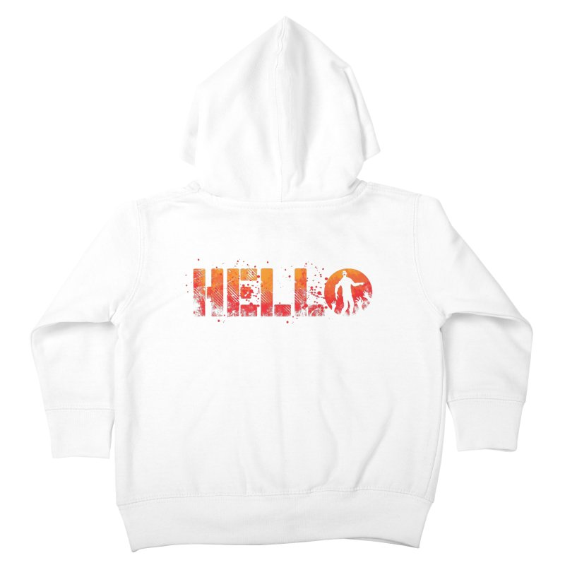 HELLO Kids Toddler Zip-Up Hoody by Steven Toang