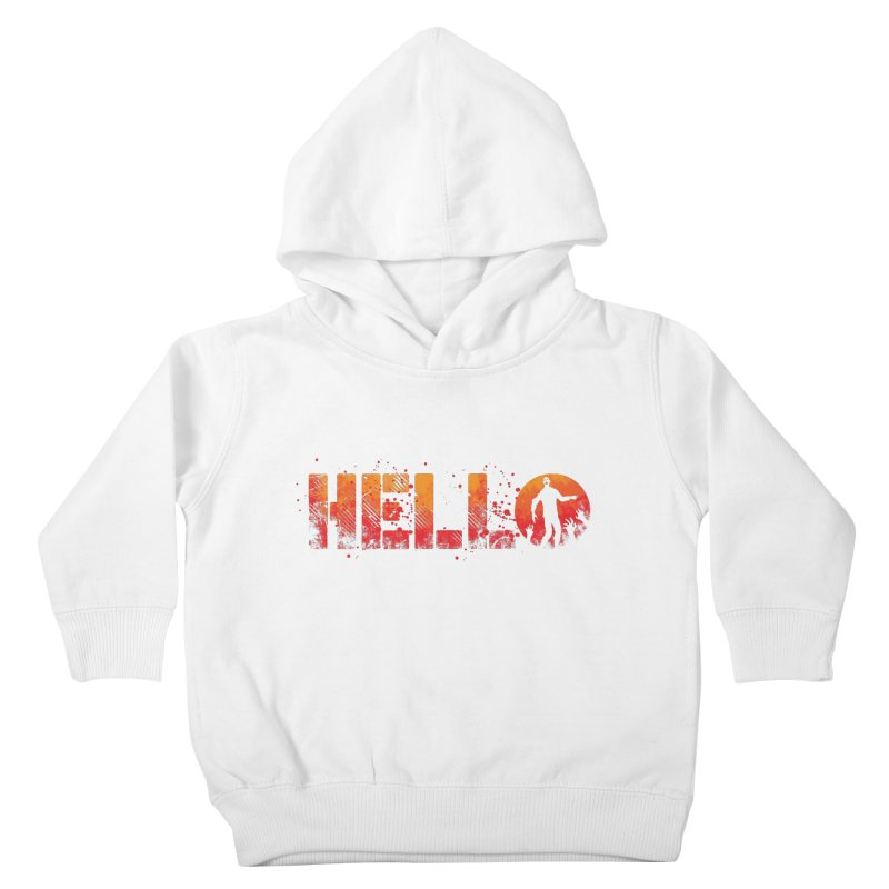 HELLO Kids Toddler Pullover Hoody by Steven Toang