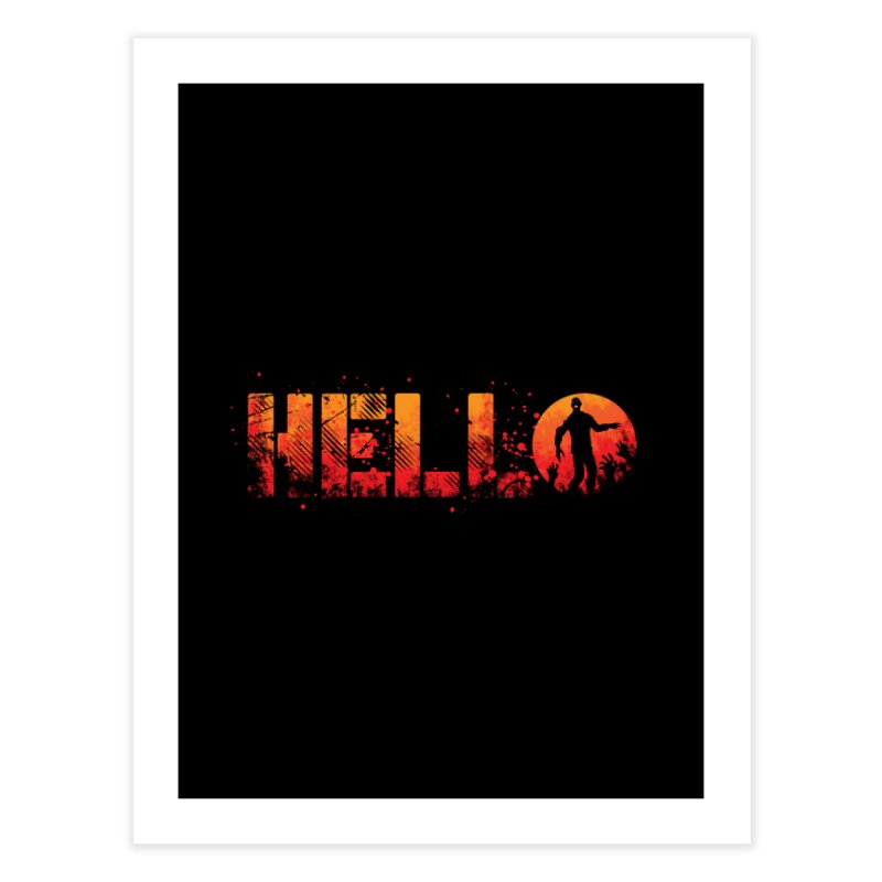 HELLO Home Bath Mat by Steven Toang