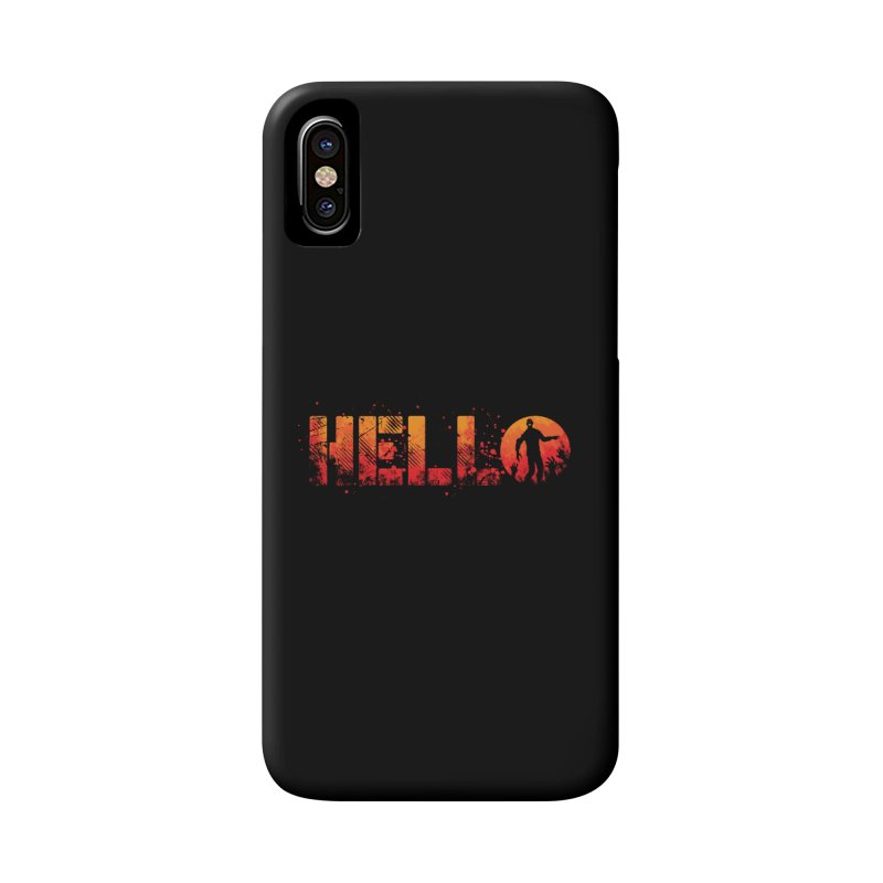 HELLO Accessories Phone Case by Steven Toang