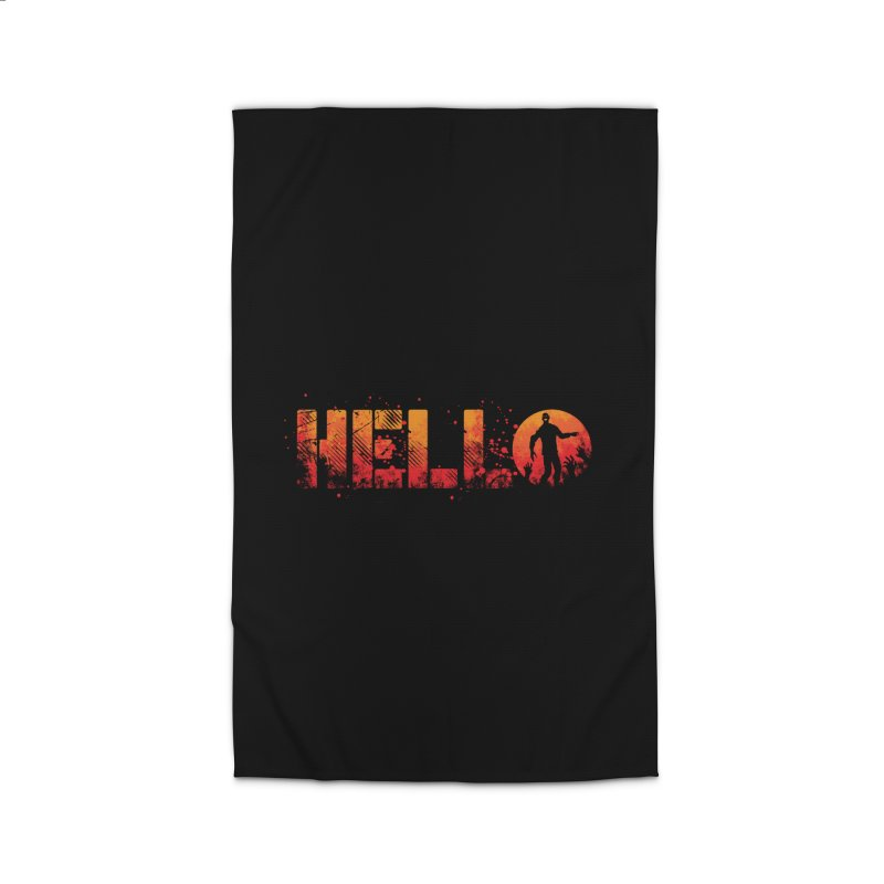 HELLO Home Rug by Steven Toang