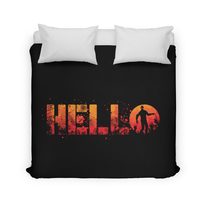 HELLO Home Duvet by Steven Toang