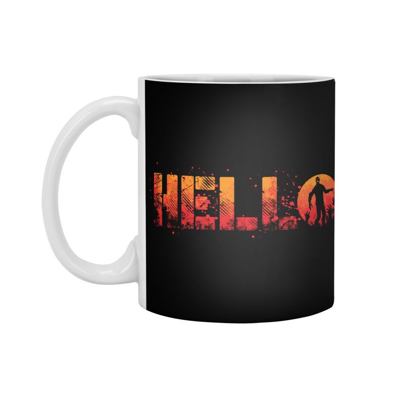HELLO Accessories Standard Mug by Steven Toang