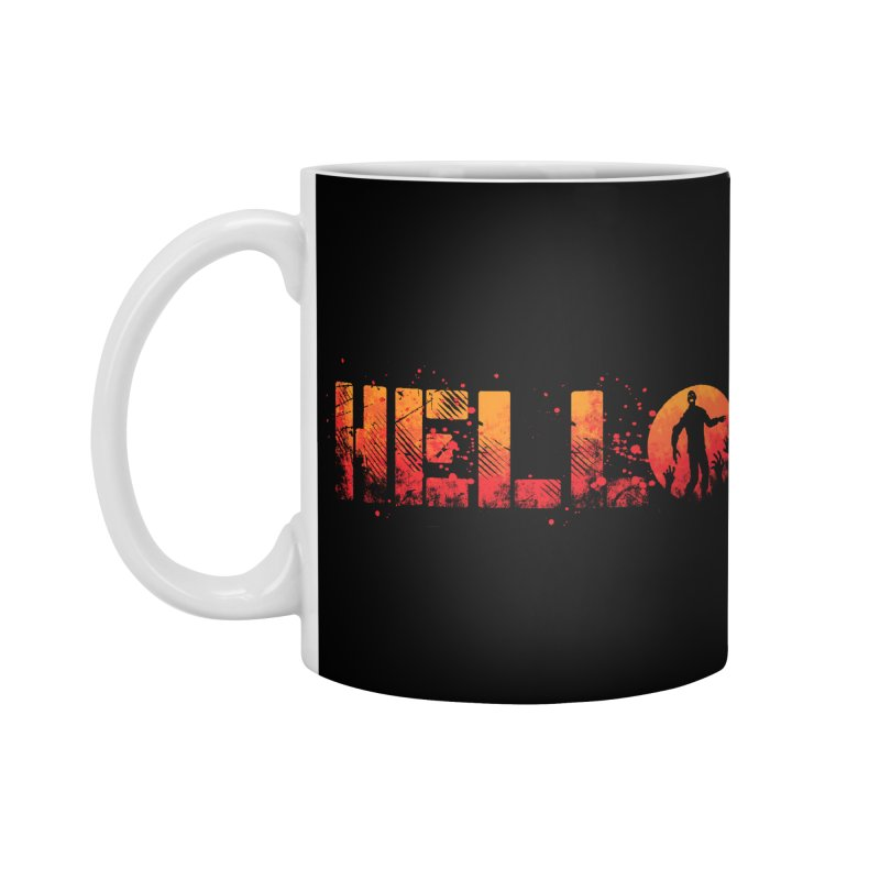 HELLO Accessories Mug by Steven Toang