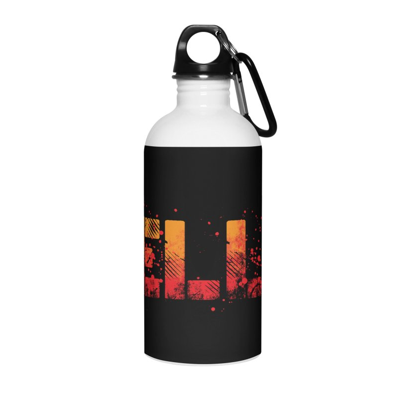 HELLO Accessories Water Bottle by Steven Toang