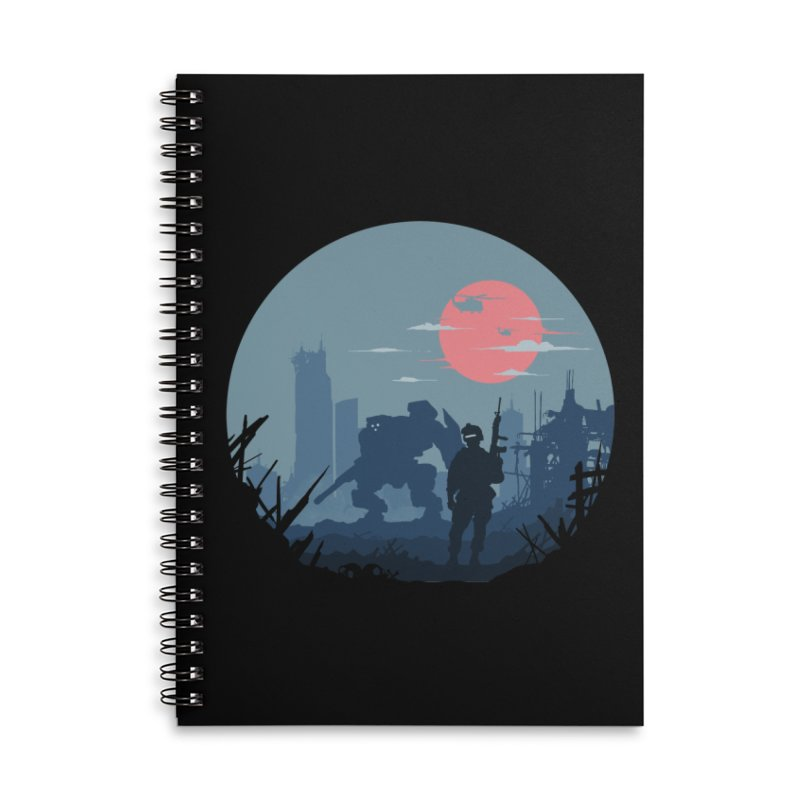 Salvation Accessories Lined Spiral Notebook by Steven Toang