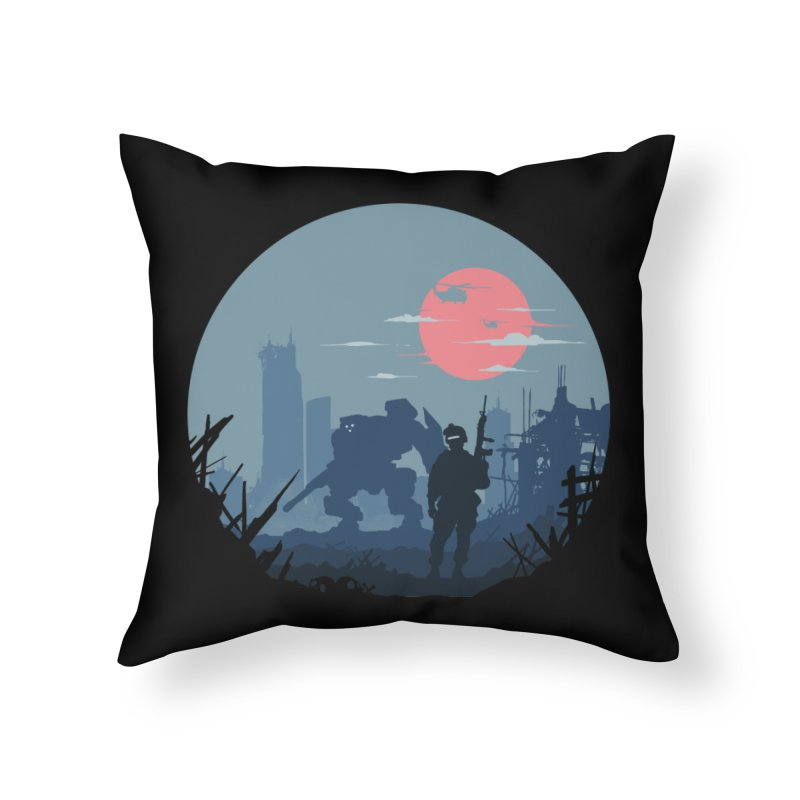 Salvation Home Throw Pillow by Steven Toang