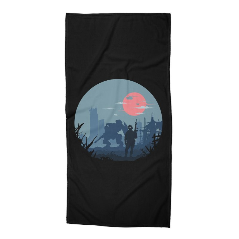 Salvation Accessories Beach Towel by Steven Toang