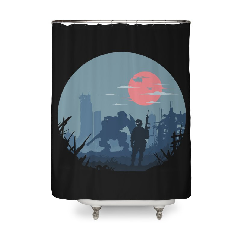 Salvation Home Shower Curtain by Steven Toang