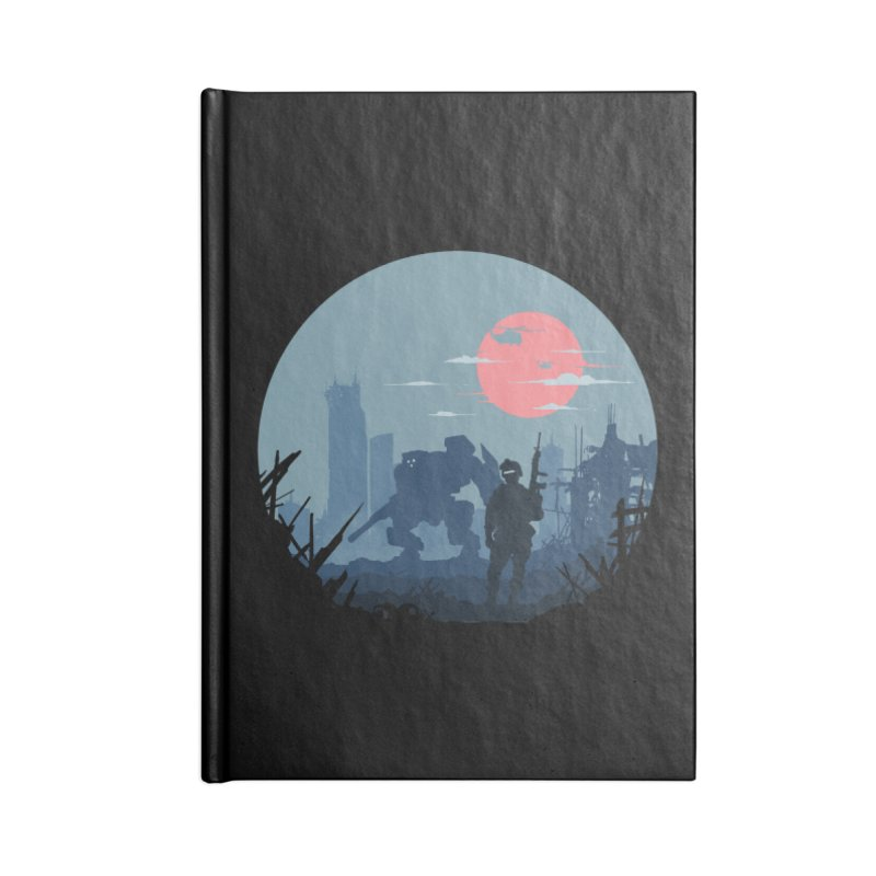 Salvation Accessories Blank Journal Notebook by Steven Toang