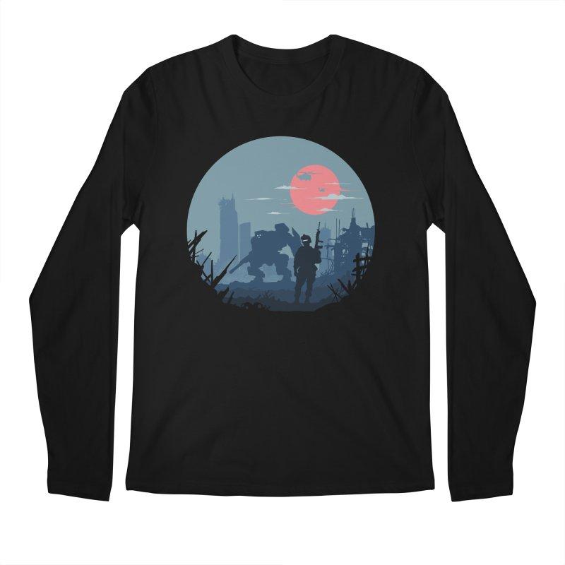 Salvation Men's Longsleeve T-Shirt by Steven Toang