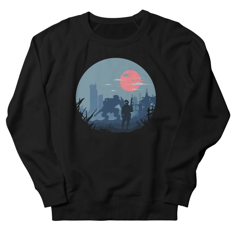 Salvation Men's French Terry Sweatshirt by Steven Toang