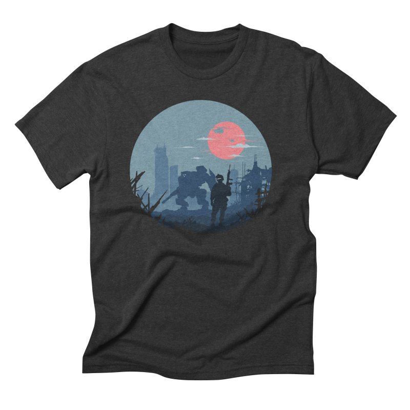 Salvation Men's Triblend T-Shirt by Steven Toang