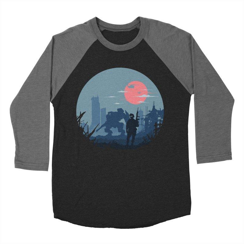 Salvation Men's Baseball Triblend T-Shirt by Steven Toang