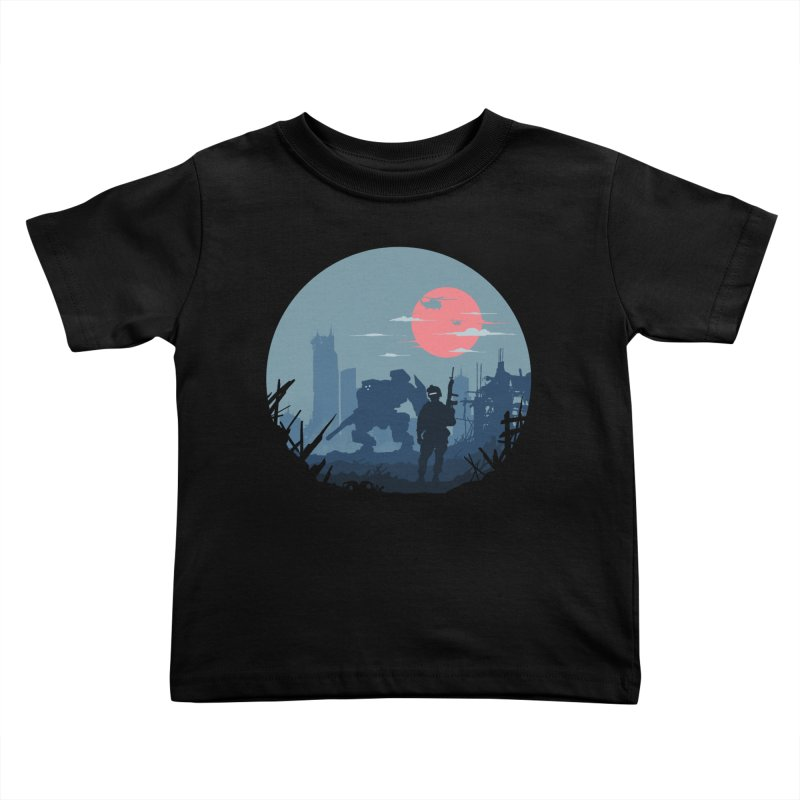 Salvation Kids Toddler T-Shirt by Steven Toang