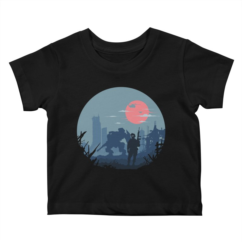 Salvation Kids Baby T-Shirt by Steven Toang