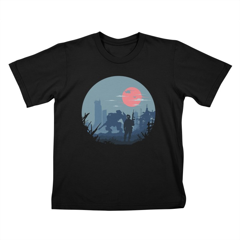 Salvation Kids T-Shirt by Steven Toang
