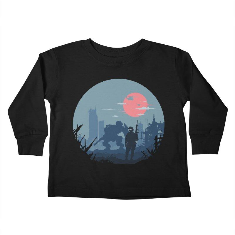 Salvation Kids Toddler Longsleeve T-Shirt by Steven Toang
