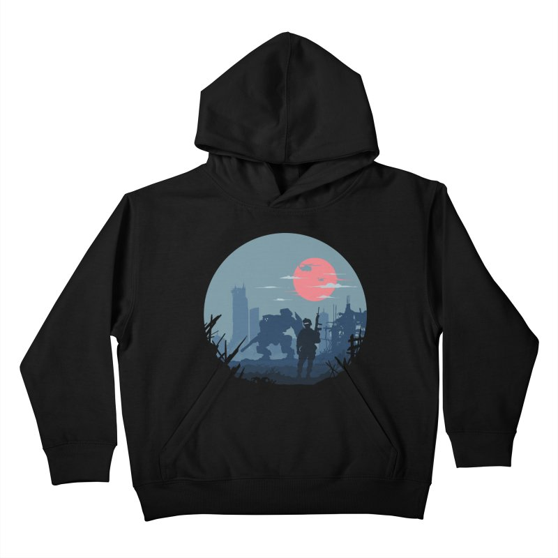 Salvation Kids Pullover Hoody by Steven Toang