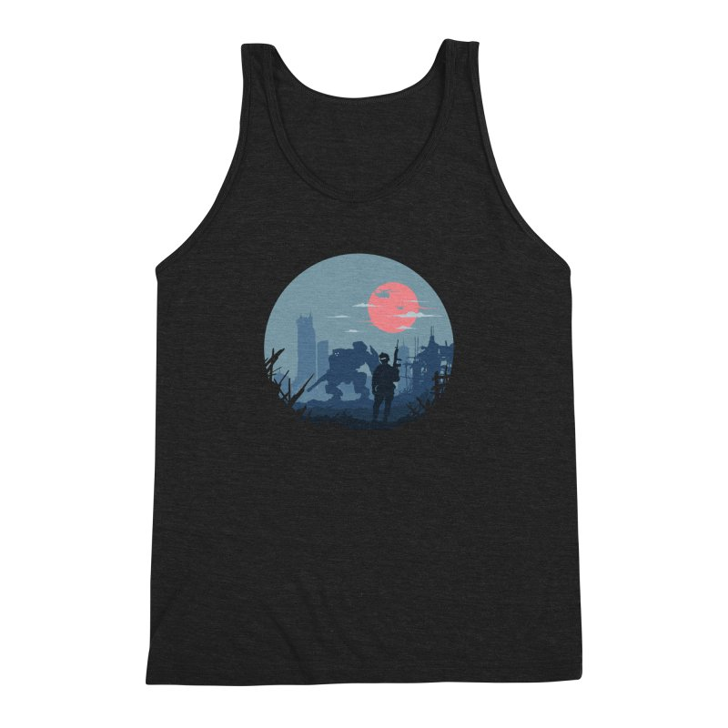 Salvation Men's Triblend Tank by Steven Toang