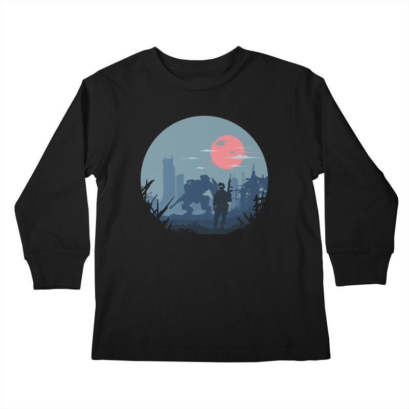 Salvation Kids Longsleeve T-Shirt by Steven Toang