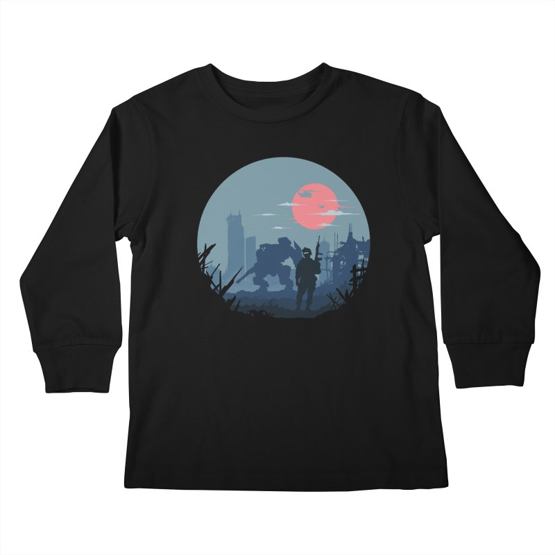 Salvation Kids Longsleeve T-Shirt by Steven Toang