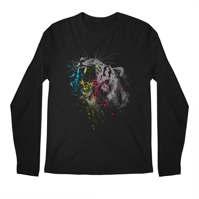 Rawr Men's Longsleeve T-Shirt by Steven Toang